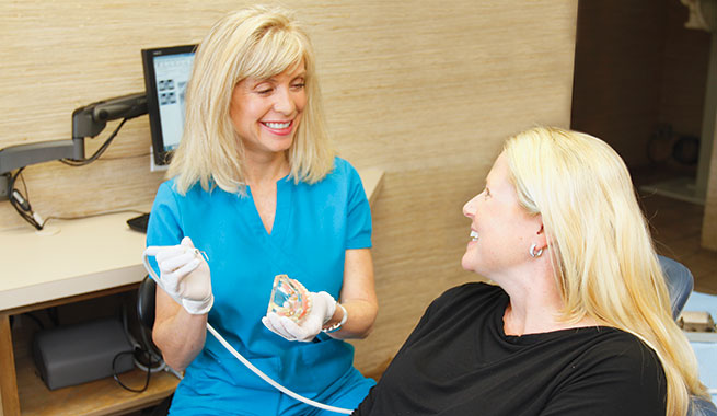 Cleanings for Dental Implants